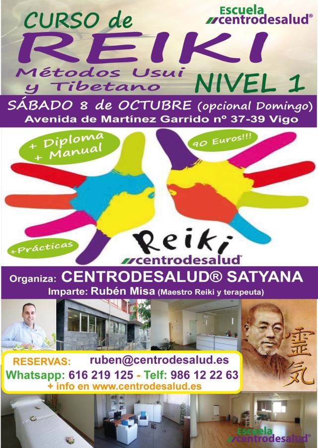 reiki vigo, cursos y terapias
